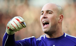Pepe Reina has won one trophy with Liverpool - the 2006 FA Cup