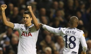 Erik Lamela, the Tottenham midfielder, capped an impressive display against FC Sheriff with a goal