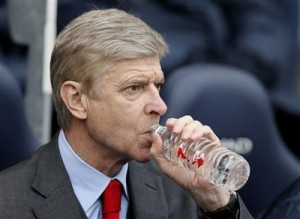 Arsenal manager Wenger attends their English Premier League soccer match against Manchester City at the Etihad stadium in Manchester